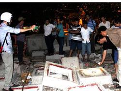 Nắp cống đè bé trai 10 tuổi ở Sài Gòn tử vong