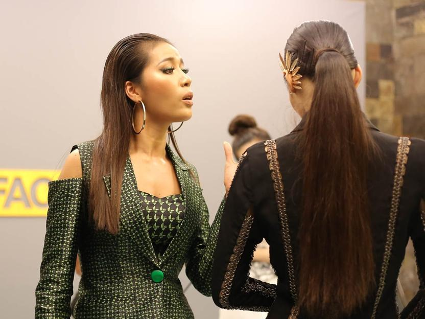 Minh Tú cả giận mất khôn, dè bỉu Lan Khuê là 'thí sinh vớt của Miss World'