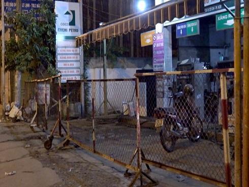 Nhân viên cây xăng đâm chết khách hàng ở Sài Gòn