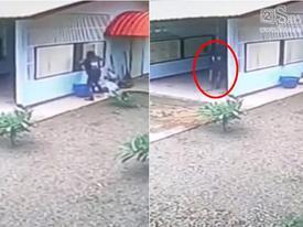 Tên trộm gặp cảnh tượng 'ngỡ ngàng' sau khi dùng hết trí khôn để phá cửa sổ