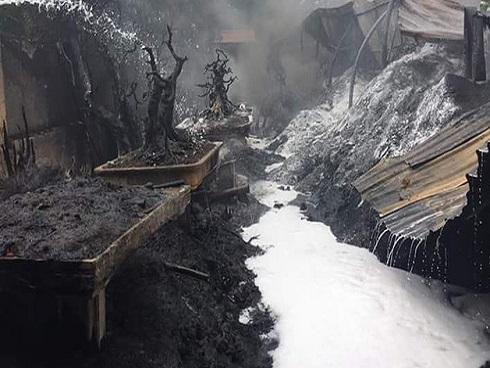 Hà Nội: Cháy lớn tại làng Triều Khúc