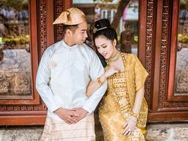 Yêu 8 năm, cặp đôi Myanmar dắt tay nhau sang Việt Nam chụp hình cưới lung linh chưa từng thấy