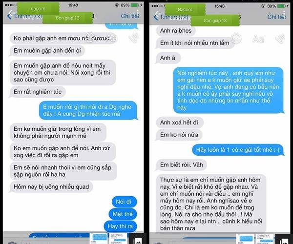 Công khai tin nhắn gạ tình của nữ diễn viên nổi tiếng với Việt Anh 'Người phán xử' -3