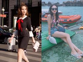 Street style sao Việt tuần qua: Ngọc Trinh kín đáo đối lập Hương Giang Idol sexy