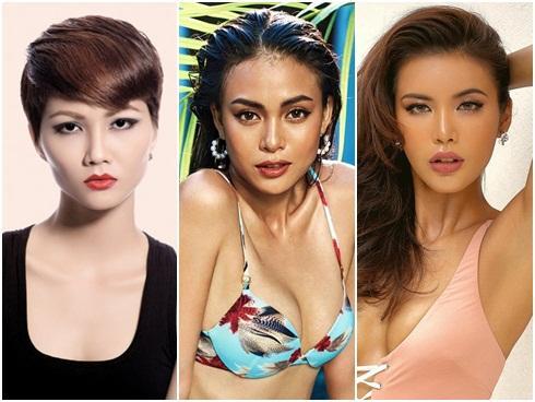 Những đối thủ xứng tầm của Mâu Thủy tại 'Hoa hậu Hoàn vũ Việt Nam 2017'