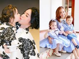 Cứ nhìn cách mẹ con Elly Trần diện đồ thì ngày nào cũng là ngày Gia đình Việt Nam!