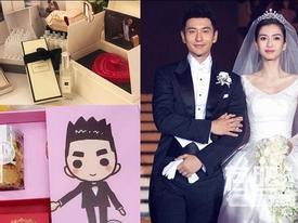 Những món quà cưới độc đáo và vô cùng ấn tượng của sao Hoa ngữ