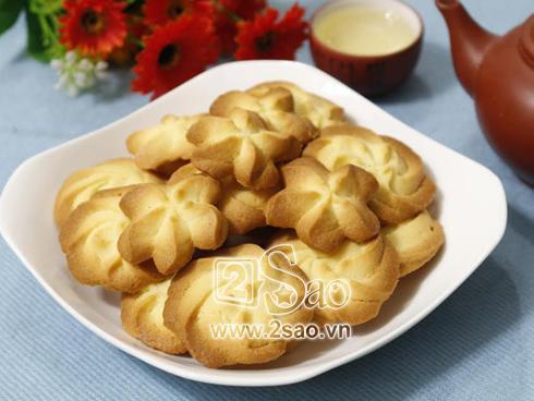 Các nàng thích vào bếp hãy làm ngay bánh quy bơ ăn chơi theo cách này, đảm bảo ngon mê ly