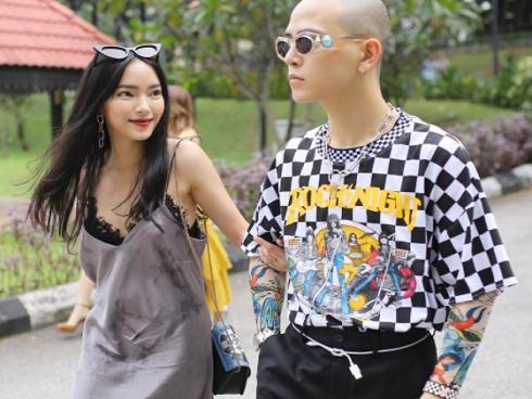 Nhìn lại những khoảnh khắc thời trang 'cặp đôi' của Châu Bùi và Decao trước khi chia tay