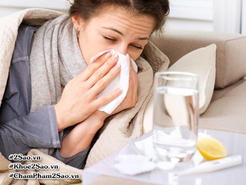 Việc đầu tiên bạn nên làm khi cơ thể có dấu hiệu cảm cúm