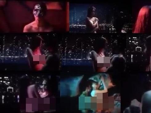 Sau cảnh hở ngực, Sulli lại bị lộ cảnh giường chiếu với Kim Soo Hyun