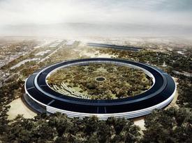 Trụ sở mới Apple tuyệt đẹp khi quay bằng drone
