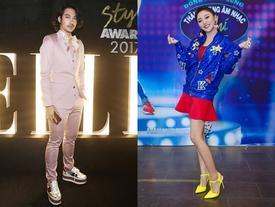Bất chấp quy tắc màu sắc, Lý Quí Khánh - Văn Mai Hương đứng đầu top sao xấu