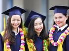 Sinh viên Học viện Hàng không Việt Nam rạng ngời trong ngày lễ tốt nghiệp