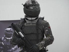 Bộ giáp công nghệ giống phim 'Star Wars' của binh sĩ Nga