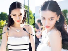 Angela Baby đẹp mong manh như công chúa giữa kinh đô thời trang Paris