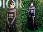 Bella Hadid gợi cảm 'hết nấc' với váy xuyên thấu tại tuần lễ thời trang Paris
