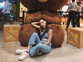 Tú Hảo - Ứng cử viên sáng giá 'The Face' hồn nhiên đăng ảnh lộ ngấn bụng lên Instagram
