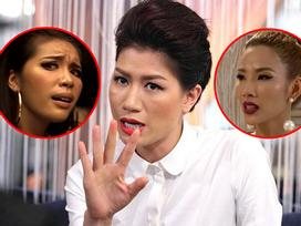Lỡ miệng bênh Lan Khuê, khán giả The Face bị Trang Trần chửi 'ngu hơn người, phí cơm bố mẹ nuôi'