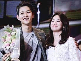 Loạt ảnh 'tình trong như đã' của Song Joong Ki và Song Hye Kyo