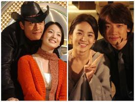 Trước Song Joong Ki, Song Hye Kyo đã từng đóng phim là 'ẵm được người yêu'!