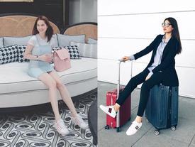 Street style sao Việt tuần qua: Ngọc Trinh cưa sừng làm nghé, Phạm Hương diện đồ menswear
