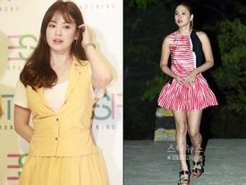 Xinh đẹp là thế, Song Hye Kyo vẫn nhiều lần không che nổi khuyết điểm chân thô