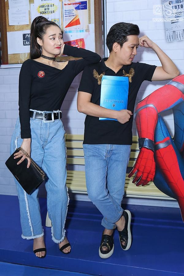 Trường Giang - Nhã Phương nhắng nhít đi gặp Người nhện -2