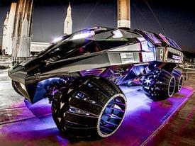 Xe du hành Hỏa tinh giống Batmobile của NASA