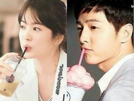 Tướng phu thê hiển hiện trên mặt - Trời sinh Song Joong Ki, Song Hye Kyo đã là một cặp