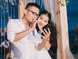 Toàn cảnh đám cưới hạnh phúc bên bãi biển của nữ MC tuyển chồng