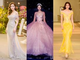 Thời trang thảm đỏ: Phạm Hương - Khánh Ngân lộng lẫy như công chúa Disney