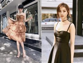 Ngắm gu thời trang street style cực ngọt của Khánh Linh 'The Face'