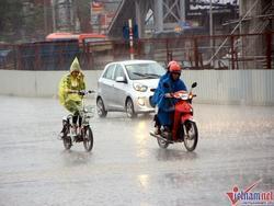 Dự báo thời tiết 7/7: Hà Nội mưa rào vào chiều tối