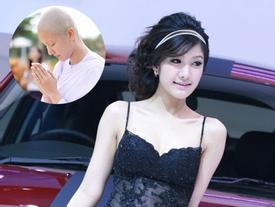 'Nữ hoàng xế hộp' xinh đẹp số 1 Thái Lan bất ngờ khoe ảnh đi tu khiến ai cũng choáng