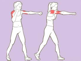 Tạm biệt bắp tay ngấn mỡ với 6 bài tập siêu đơn giản mà hiệu quả