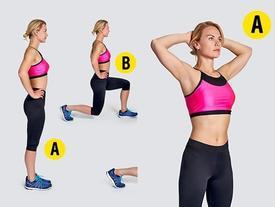 5 động tác tay không giúp đốt mỡ thừa tương đương 1 giờ tập gym