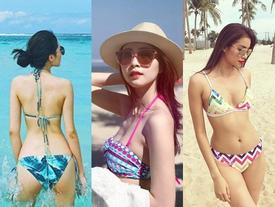 Kỳ Duyên - Thu Thảo - Phạm Hương: Ai mới là hoa hậu mặc bikini hấp dẫn nhất?
