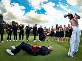 Ảnh hài: Loạt ảnh cưới khiến người xem... cười ngả nghiêng (P2)