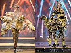 Miss Grand Thailand 2017: Dị nhưng hoành tráng, đầy đủ từ 'nhân mã' cho đến 'tiên sầu riêng