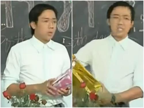 Clip hài: Thầy giáo Trấn Thành ngậm ngùi với quà sinh nhật của học trò-1