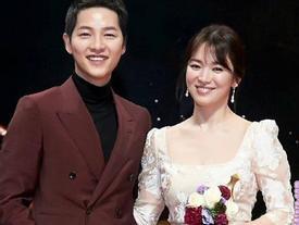 Tuổi Sửu và tuổi Dậu là 'trời sinh một cặp' đấy! Song Joong Ki và Song Hye Kyo sẽ có hôn nhân viên mãn?