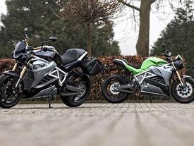 Siêu môtô điện mạnh mẽ như xe phân khối lớn