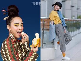 Ngắm gu thời trang đa-zi-năng của cô nàng răng thỏ Thiên Nga 'The Face'
