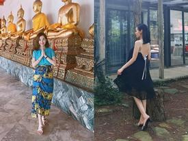 Hot girl - hot boy Việt 9/7: Ly Kute khoe ảnh đi chùa, Tâm Tít thức dậy ở một nơi xa