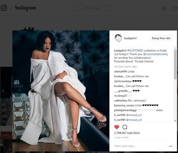 Rihanna mặc trang phục của NTK Công Trí -1