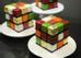 Mới đây nhất, Cédric Grolet đã cho ra mắt loạt bánh mới trông y như một khối rubik cầu kỳ. Mỗi viên bánh là một hương vị, một màu sắc khác biệt.