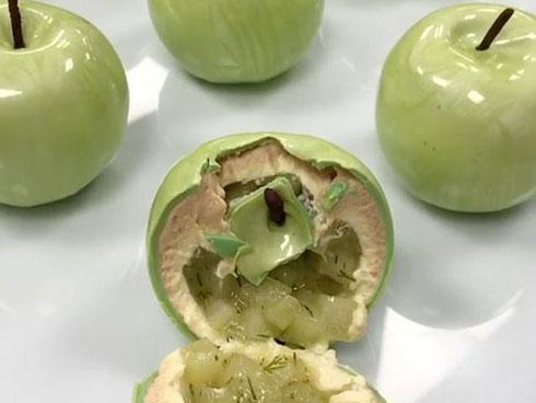 Ai cũng cho rằng đây là quả chanh thật cho tới khi bổ ra