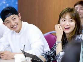 Tiết lộ mới: Hóa ra Song Joong Ki và Song Hye Kyo quen nhau trước khi đóng 'Hậu duệ mặt trời'