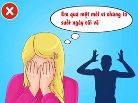 Dấu hiệu chứng tỏ, bạn và người ấy không nên tiếp tục mối quan hệ